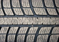 Used tyre texture Stock Images