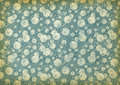 Used vintage wallpaper Stock Photography