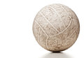 Used volley ball Royalty Free Stock Photo