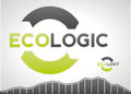 Useful logo graphic element and icon for ecologic design Royalty Free Stock Photo