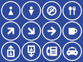 Useful Vector Icons Set Stock Photography