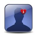 User avatar icon Royalty Free Stock Photo