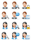 User icons Stock Photos