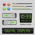 User interface design elements Royalty Free Stock Image