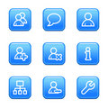 Users web icons Stock Images