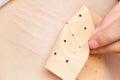 Using chinese rheumatism plaster