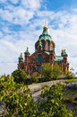 Uspenski Cathedral in Helsinki, Finland Stock Images
