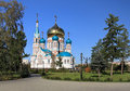 Uspenskiy cathedral. Stock Photography