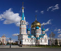 Uspenskiy cathedral. Stock Photos
