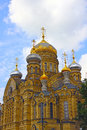 Uspenskoe courtyard optina pustyn monastery in st petersburg russia Royalty Free Stock Photos
