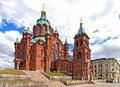 Uspensky Cathedral in Helsinki. Stock Photography