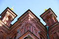 Uspensky cathedral helsinki on a sunny day Royalty Free Stock Images