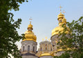 Uspensky Cathedral in Kiev-Pechersk Lavra. Stock Images