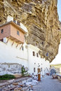 Uspensky Cave Monastery Royalty Free Stock Images