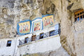 Uspensky Cave Monastery Royalty Free Stock Photos