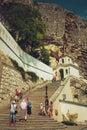 Uspensky monastery in bakhchisaray crimea Royalty Free Stock Images