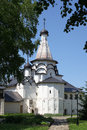 Uspensky refectory church in the spaso evfimiyevsky monastery suzdal Stock Photos