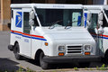 USPS postal vehicle Royalty Free Stock Photos