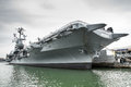 USS Intrepid Royalty Free Stock Photo