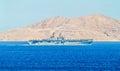 USS Iwo Jima (LHD-7) - Wasp-class amphibious assault ship Royalty Free Stock Photo