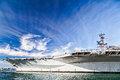 USS Midway Aircraft carrier Stock Photography
