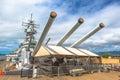 USS Missouri BB-63 Royalty Free Stock Photo
