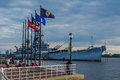 USS New Jersey Royalty Free Stock Photo
