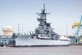 USS New Jersey Royalty Free Stock Photo