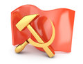 USSR flag Royalty Free Stock Photo