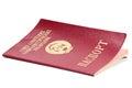 Ussr passport on white background Royalty Free Stock Photos