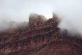Utah Desert Storm Clouds Royalty Free Stock Photo