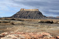 Utah: Factory Butte Royalty Free Stock Photo
