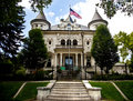 Utah Governor's Mansion Salt Lake City Royalty Free Stock Photo