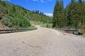 Utah: Mountain Road Royalty Free Stock Photo