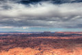 Utah-Needles Overlook-view of Canyonlands National Park Royalty Free Stock Photo