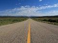 Utah: Road To No where Royalty Free Stock Photo