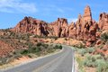 Utah scenic road Royalty Free Stock Photo
