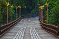 Utamanusorn bridge or Morn bridge, Thailand Stock Image