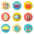 Utensils icons set vector illustration Stock Images