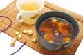 Utformade det sunda mellanmål för den asiatiska frukosten Royaltyfria Bilder