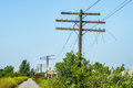 Utility Poles Royalty Free Stock Image