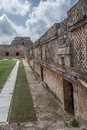 Uxmal Nunnery Square Yucatan Mexico Royalty Free Stock Images