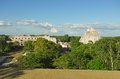 Uxmal the ruins of the ancient mayan city in yucatan mexico Royalty Free Stock Photography