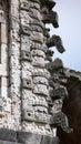 Uxmal yucatan mexico nunnery quadrangle in Royalty Free Stock Image