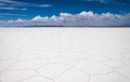 Uyuni salt flats Royalty Free Stock Photo