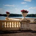 Uzutrakis manor in Lithuania Royalty Free Stock Image
