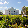 Uzutrakis manor in Lithuania Royalty Free Stock Photo