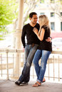 Vacances de couples Photo stock