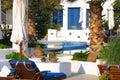 Vacances heureuses en Grèce Photo stock