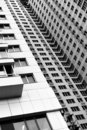 Vacant modern apartment building Royalty Free Stock Photos
